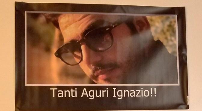 Tanti Auguri, Ignazio!  October 4, 2018