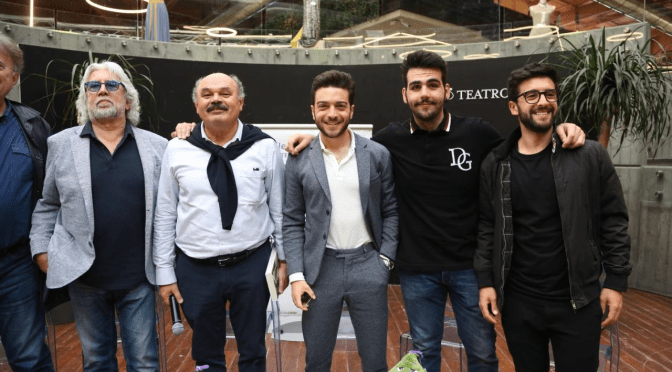 IL VOLO CELEBRATES TORPEDINE IN FICO by Daniela