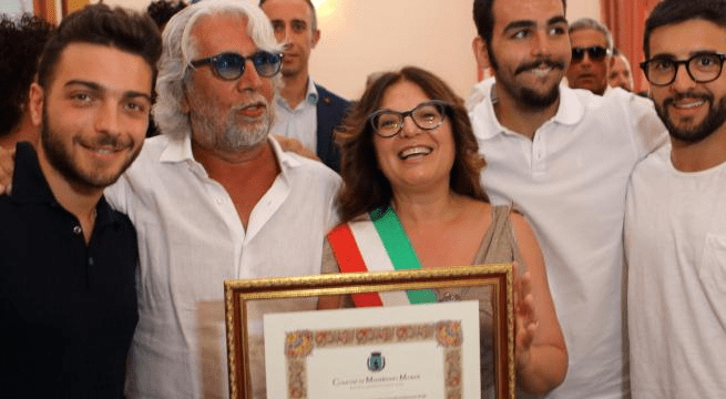 HONORARY CITIZENSHIP TO MICHELE TORPEDINE by Daniela