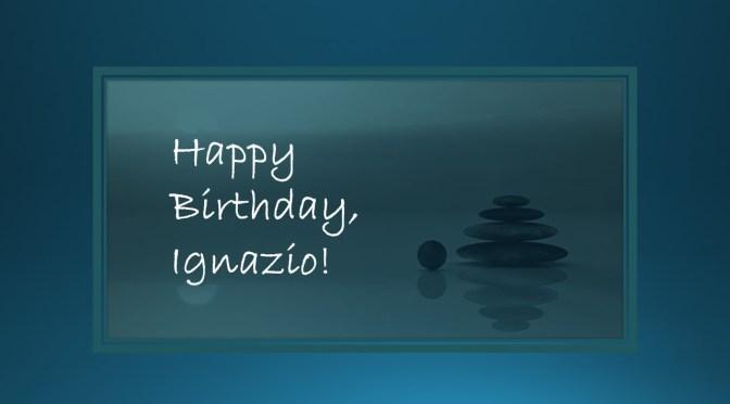 HAPPY 26th BIRTHDAY, IGNAZIO!!
