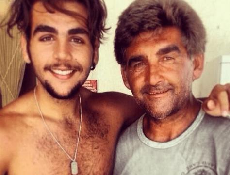 Ignazio with his Dad, Vito