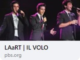 Left to right: A web link showing Piero, Gianluca and Ignazio on PBS