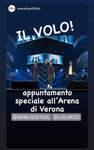 Special Appointment notice from Verona Arena