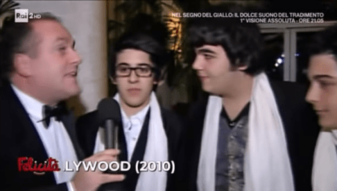 IL VOLO being interviewed in 2010