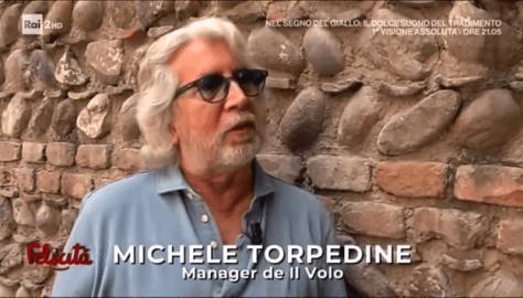 Closeup of Michele Torpedine
