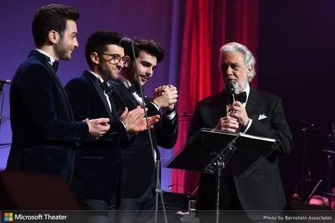 IL VOLO on stage with Plácido Domingo
