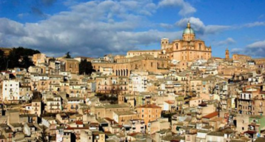 View of the buildings of Naro