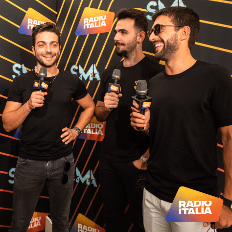 IL VOLO being interviewed by Radio Italia