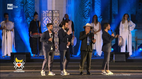 IL VOLO with Albano on stage