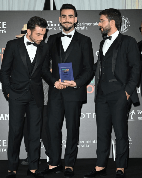 IL VOLO with their Film Italy Movie Award