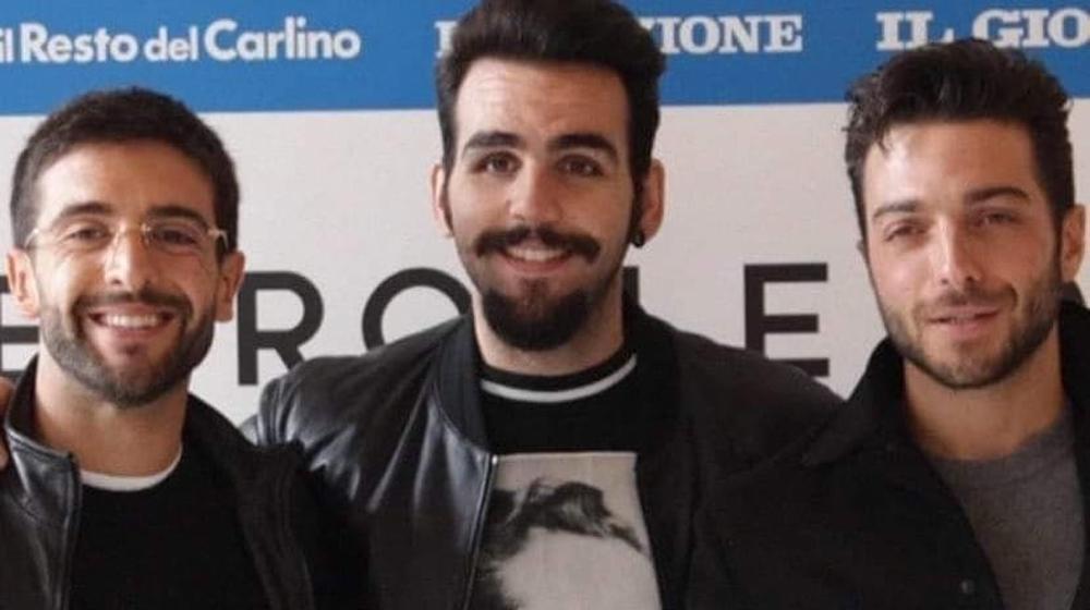 Left to right: Closeup of Piero, Ignazio and Gianluca