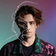 Nico with gorilla art superimposed on his photo