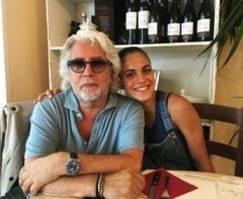 Michele Torpedine with Giada