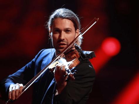 DAVID GARRET with violin