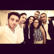 @marcop_23 Gianluca with fans - filming of new video L'amore si Muove 9/2015