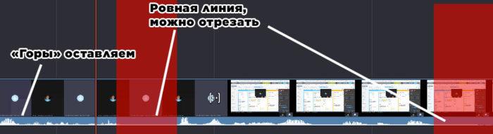 обрезка видео переупаковка прямых эфиров