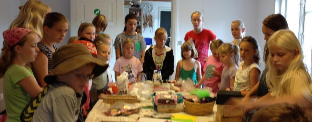 Billedskole for børn i Holstebro FOF