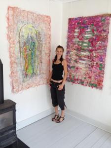 tekstil udstilling borbjerg