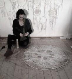 tekstil kunst Ilze Rudzite