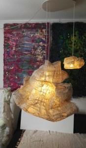 Tekstil lamper