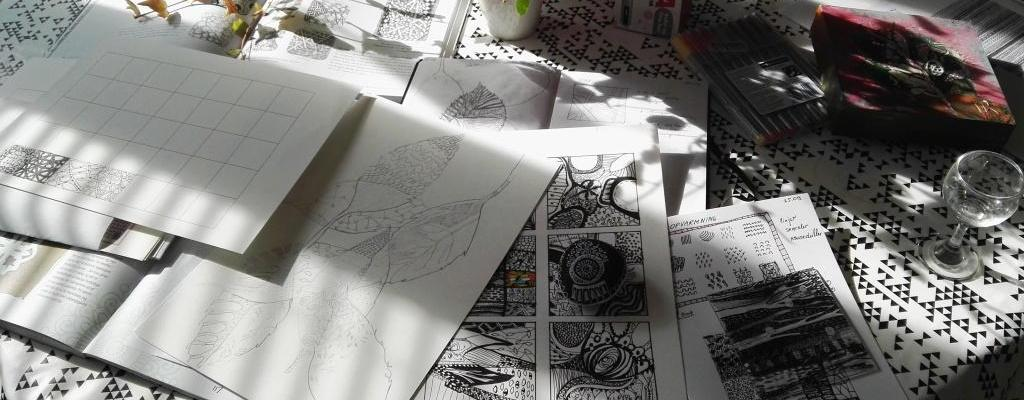 Zentangle Tegning Kursus