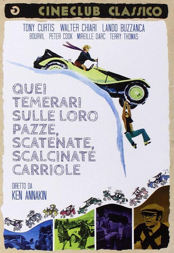Monte Carlo or Bust! (1969) Quei temerari sulle loro carriole