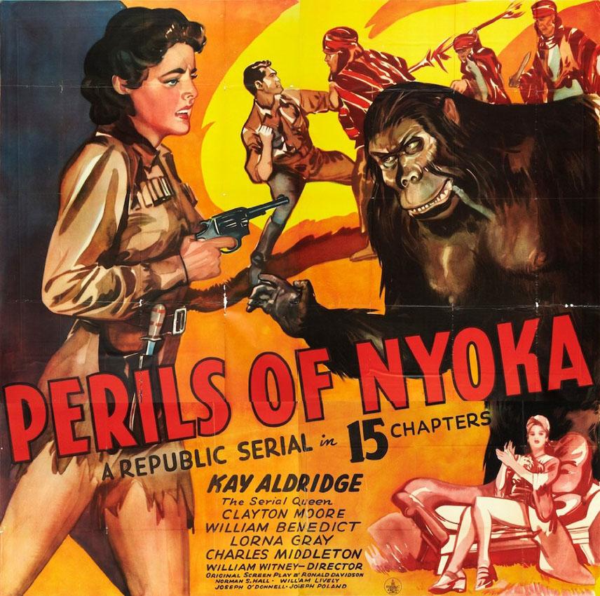 Perils of Nyoka (1942) L'eroina e la sgualdrina