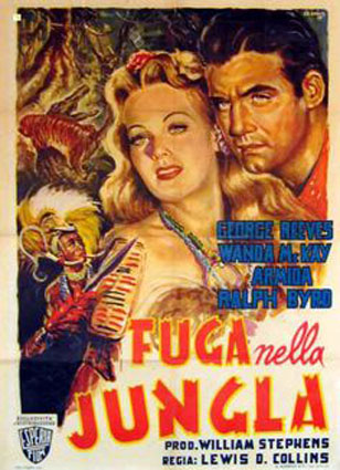 Jungle Goddess (1948) Fuga nella giungla