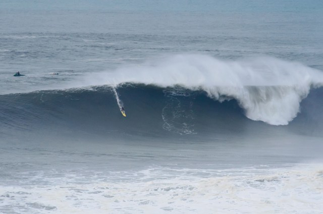 Nazare training,