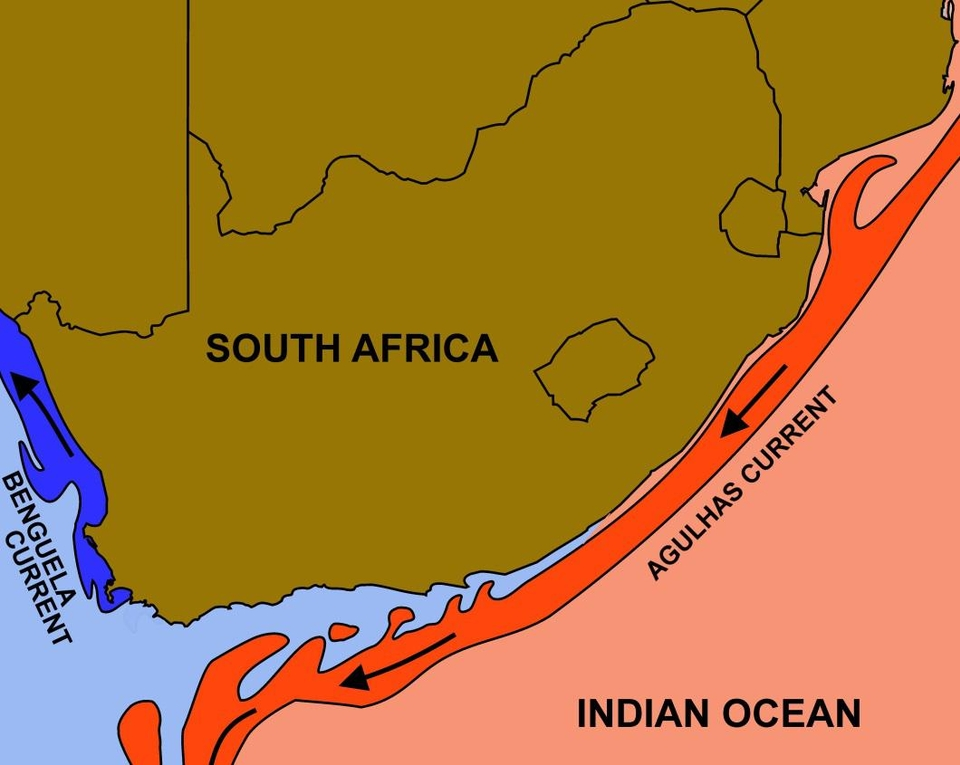 Coast Africa Water Weathering