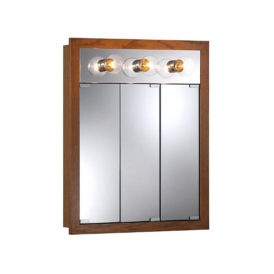 Granville Surface Mount 3 Door Medicine Cabinet w Classic