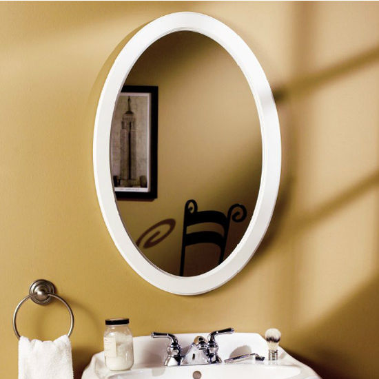 Dunhill Oval Framed Bathroom Cabinet by Jensen Formerly