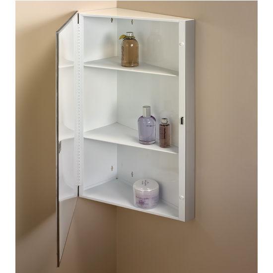 Medicine Cabinets  Corner Bathroom Medicine Cabinets by
