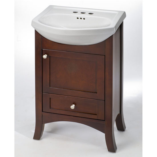 bathroom vanities - 20'' petite empress petite empress vanity - wood