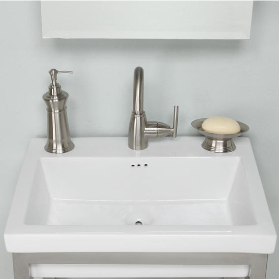 Bathroom Sinks  Tribeca Ceramic Sink Tops in White with