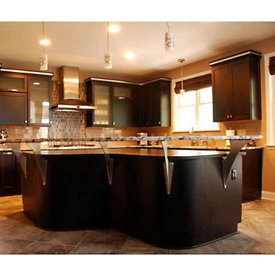 Creating A Floating Countertop Or Breakfast Bar Is