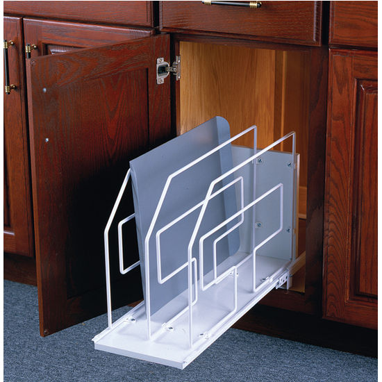 unfinished kitchen wall cabinets crocks roll-out tray cabinet dividers by knape & vogt ...