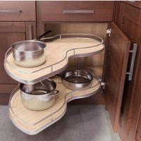 Kitchen Cabinet Organizers - Twin Corner Base Cabinet ...