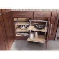 Kitchen Cabinet Organizers - Wari Corner Base Cabinet ...