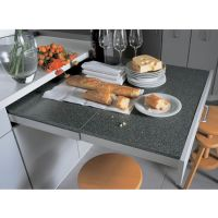 """''Top Flex"""" Pull-Out Kitchen Table System Fittings From ..."""