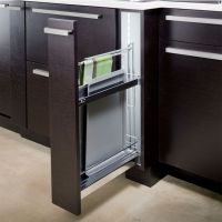 Hafele Base Cabinet Pull-Out For Baking Trays w/ Dampening ...