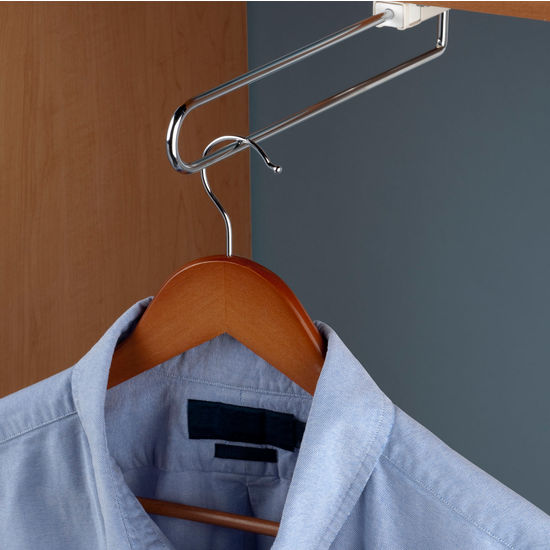 Hafele Telescopic Closet or Wardrobe Valet Rod