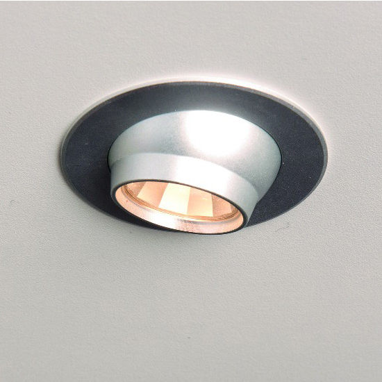 Cabinet Lighting Luminoso 12V 1109 Recess Mounted Swivel Round LED Puck Light with 18 LEDs by