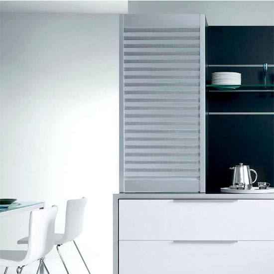 kitchen cabinets unfinished american standard white faucet hafele aluminum roller shutters-box milano with free ...