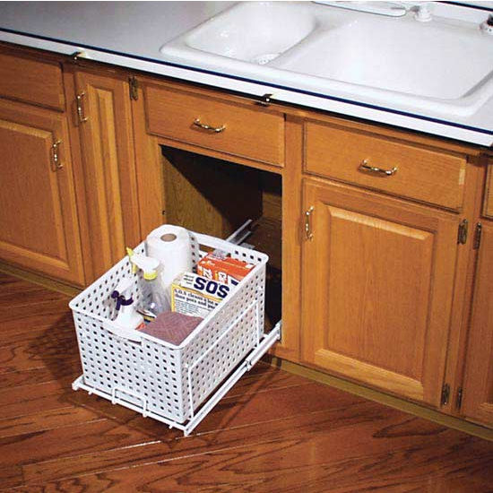 RevAShelf PullOut Laundry Hamper and Utility Basket for