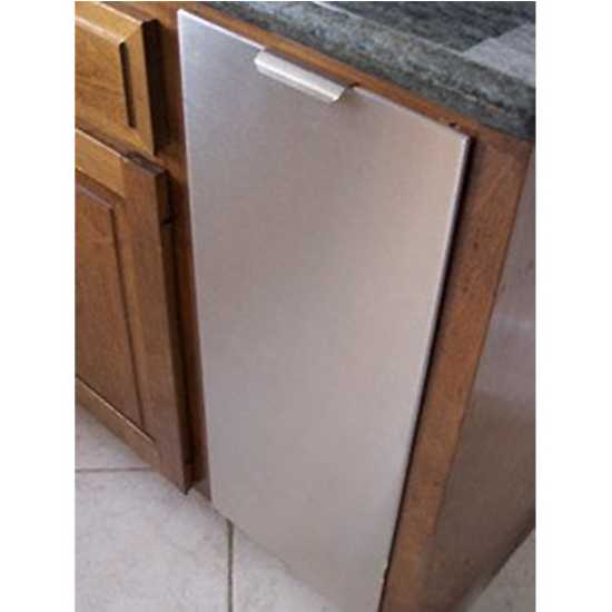 Trash Cans  Trash or Recycling Cabinet with Trash Cans by