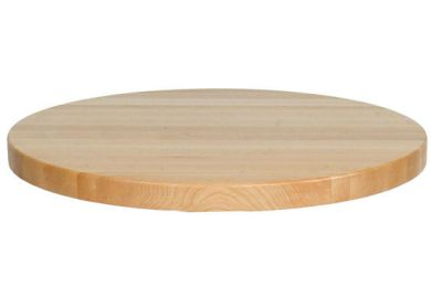 Round Butcher Block Kitchen Table