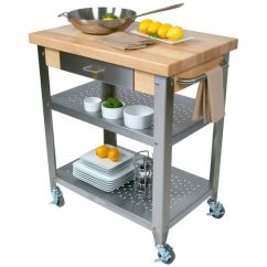John Boos Kitchen Island Ikea Chairs Cucina Elegante Carts With 1 3 4 Thick Hard View Larger Image