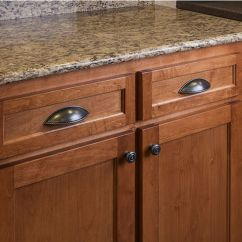 Black Pull Handles Kitchen Cabinets Remodeling Columbus Ohio Lenior Collection Shaker Cabinet Cup With Rope Detail ...