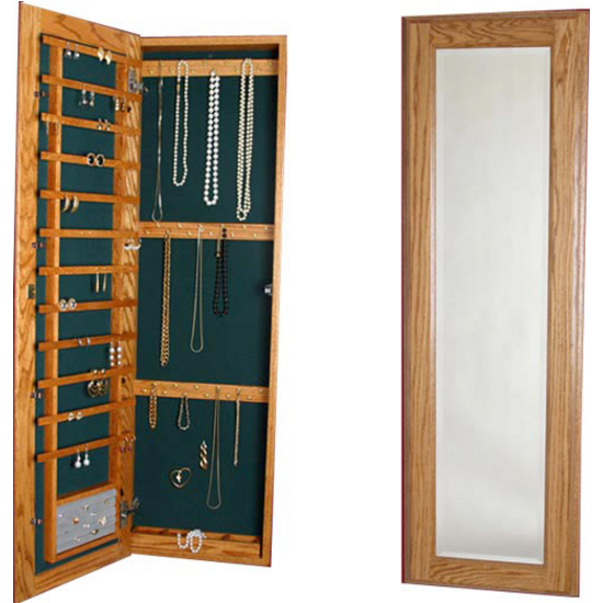 CabinetOrganizers  Large Jewelry Cabinet with Full